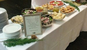 event party catering Vancouver