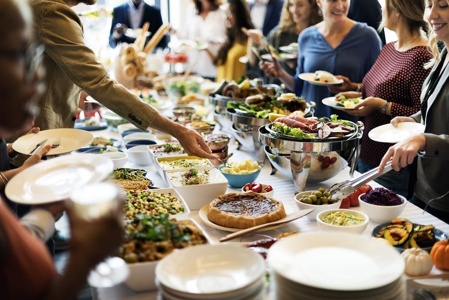 buffet catering vancouver