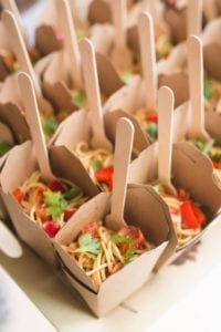 dinner party caterer West Vancouver